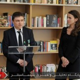 19Cristian Mungiu and Aurelie Filippetti - Medal ceremony - Officer of the Order of Arts and Letters