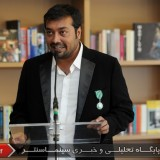 21Anurag Kashyap - Medal ceremony - Knight of the Order of Arts and Letters