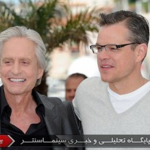 01Michael Douglas and Matt Damon - Photocall - Behind the Candelabra