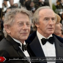 27Jackie Stewart and Roman Polanski - Red carpet - Weekend of a Champion
