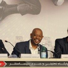05Alexandre Desplat, Forest Whitaker and Jerome Salle - Press conference - Zulu