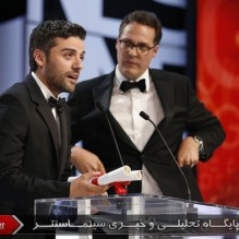 18Oscar Isaac and Olivier Courson - Grand Prix - Inside Llewyn Devis